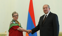 The newly appointed Head of the EU delegation in Armenia presented her credentials to President Sarkissian