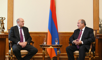 President Sarkissian received the Chief Executive Officer of International at HSBC: HSBC's entry into the Armenian market had a great impact on the formation of the financial and banking system