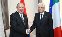 «Մեր հանդիպումների հաճելի հիշողություններով և Ձեզ պետական այցով Քվիրինալյան պալատում ընդունելուն սպասելով՝ վերստին հղում եմ իմ ջերմ մաղթանքները». Իտալիայի նախագահը շնորհավորական ուղերձ է հղել նախագահ Արմեն Սարգսյանին