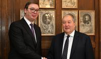 «С радостью ожидаем Ваш предстоящий официальный визит в Сербию», - Президенту Саркисяну поздравительное послание направил Президент Сербии Александр Вучич