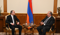 Армения и Ливан обладают большим потенциалом для углубления взаимовыгодного сотрудничества в различных областях – Президент принял возглавляемую Министром обороны Ливана делегацию