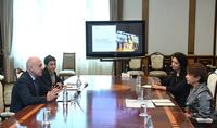 Супруга Президента Республики госпожа Нунэ Саркисян встретилась с делегацией АБОС