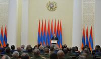 Речь Президента Республики Армена Саркисяна на церемонии вручения наград по случаю Праздника Независимости