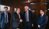 Պայմանավորվածություն է ձեռք բերվել համատեղ գիտահետազոտական և կրթական ծրագրեր իրականացնելու վերաբերյալ. նախագահը հանդիպել է իտալական տեխնոլոգիական առաջատար «Լեոնարդո» ընկերության գործադիր տնօրեն Ալեսանդրո Պրոֆումոյի հետ