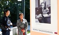 Нунэ Саркисян ознакомилась с выставками, организованными в рамках Первого Международного армянского фотофестиваля