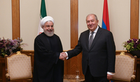 President Armen Sarkissian met with President of Iran Hassan Rouhani: History of our relations is a good example of friendly and brotherly relations