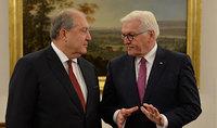 Նախագահ Արմեն Սարգսյանը շնորհավորական ուղերձ է հղել Գերմանիայի նախագահ Ֆրանկ-Վալտեր Շտայնմայերին՝ Միասնության օրվա առթիվ