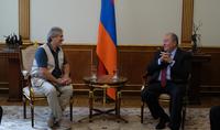 Armenia will host STARMUS 6th festival: President Sarkissian received organizers of the festival