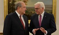 Президент Армен Саркисян направил поздравительное послание Президенту Германии Франку-Вальтеру Штайнмайеру по случаю Дня Единства