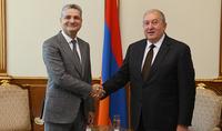 Президент Армен Саркисян принял Председателя Коллегии Евразийской экономической комиссии Тиграна Саркисяна