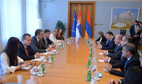 Offical visit of the President of Armenia to Serbia continues: In different ways, we have many similarities