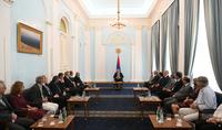 Միասին հնարավոր է շատ ավելին անել. նախագահ Արմեն Սարգսյանն ընդունել է հայ և գերմանացի գիտնականներին