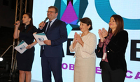 Work with numbers expands mental horizons, artistic taste, and vision: The Mental Arithmetic First International Olympiad opened with the statement of the spouse of the President of Armenia Nouneh Sarkissian
