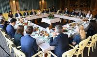 Նախագահ Արմեն Սարգսյանը հանդիպում է ունեցել YPO անդամ գործարարների խմբի հետ