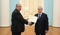 Президент Армен Саркисян принял верительные грамоты новоназначенного посла Гватемалы