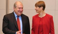 Համագործակցության ներուժը բավականին մեծ է․ Հայաստանի նախագահը հանդիպել է Էստոնիայի նախագահի հետ