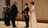 Նախագահ Արմեն Սարգսյանը մասնակցել է Ճապոնիայի նոր կայսր Նարուհիթոյի գահակալության առիթով կազմակերպված ընդունելությանը