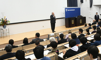 President Armen Sarkissian delivered a lecture at the Tokai University: Armenia, which like Japan, learned to rise after falling, in the 21st century can be successful