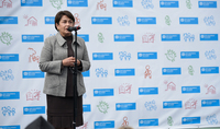 This is the largest family in the world I have ever seen: Spouse of the President Mrs. Nouneh Sarkissian was present at the inauguration of new care centers of the SOS-Children's Villages Fund