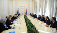 Greece will retify the EU-Armenia Comprehensive and Enhanced Partnership Agreement soon : Delegations of Armenia and Greece headed by the Presidents had a meeting