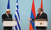 Presidents of Armenia and Greece made statements for the media: The best approach is that each of us is deeply sensible of the other's problems