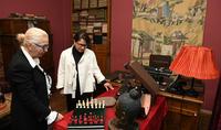 Супруга Президента Республики Нунэ Саркисян посетила дом-музей Егише Чаренца