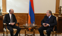 President Armen Sarkissian received the head of the International Crisis Group