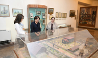 Spouse of the President of Armenia Nouneh Sarkissian visited the Hovhannes Toumanian Home-Museum