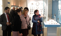 The two nations have much in common: Spouse of the President of Armenia Nouneh Sarkissian and spouse of the President of Greece Vlasia Pavlopoulos visited cultural centers