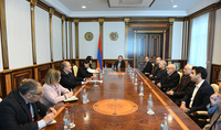 Armenia is once again becoming an international center of classical music: President Armen Sarkissian hosted a group of participants of the Modern Classics composers' festival
