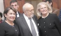 Супруга Президента Республики Нунэ Саркисян присутствовал на концертном вечере, посвящённом Кшиштофу Пендерецкому