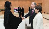 Համընկնող հետաքրքրություններ և հեռանկարային համագործակցություն. նախագահ Սարգսյանն այցելել է Կատարի հիմնադրամ