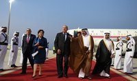 President Armen Sarkissian has arrived to the State of Qatar on official visit