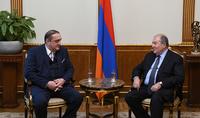 Армении и Грузии пора реализовывать совместные проекты – Президент Армен Саркисян принял Президента Грузинского фонда сотрудничества