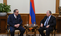 President Sarkissian received the Chairman of the Georgian Partnership Fund: the time has come for Armenia and Georgia to implement joint programs