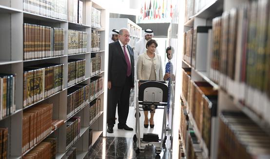 Сотрудничество Катарской национальной библиотеки с Национальной библиотекой Армении и Матенадараном будет ценным – Президент Саркисян посетил Катарскую национальную библиотеку