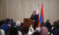 President Armen Sarkissian met with representatives of the Armenian community of Qatar: being away from the Fatherland doesn't mean you don't belong to the Fatherland