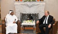Նախագահ Սարգսյանը Հայաստանի հետ համագործակցության հեռանկարներն է քննարկել Կատարի ներդրումային հիմնադրամի ներկայացուցիչների հետ