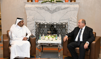 President Armen Sarkissian discussed prospects of cooperation with representatives of the Qatar Investment Authority