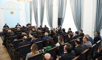 Իտալիայի Բարձրագույն դատական խորհրդի պատվիրակության անդամները քննարկում են ունեցել Հայաստանի դատաիրավական համակարգի ներկայացուցիչների հետ