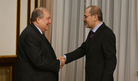 President Sarkissian met with the Jordan's Minister of Foreign Affaires and Expatriates: cordial relations with many similarities and serious prospects