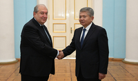 We need to develop and deepen bilateral relations: the newly appointed Ambassador of Kyrgyzstan presented his credentials to President Sarkissian
