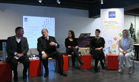 President Armen Sarkissian met with the women entrepreneurs of Gyumri at the LOFT center: Gyumri is also strong because of its women