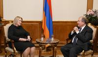 Հայաստանն ու Ֆինլանդիան ունեն համագործակցության հեռանկարներ. նախագահ Արմեն Սարգսյանն ընդունել է Ֆինլանդիայի դեսպանին