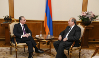 President Armen Sarkissian had a working meeting with Zohrab Mnatsakanian