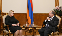 President Sarkissian received the Ambassador of Finland: Armenia and Finland 