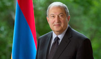 President Armen Sarkissian congratulated President of Artsakh Bako Sahakian on the occasion of Artsakh's Referendum on Independence and Constitution Day
