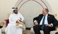 Катарский инвестиционный фонд заинтересовал в развитии отношений с Арменией
