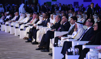 President Armen Sarkissian was present at the opening of the prestigious Doha Forum