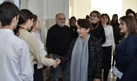 Супруга Президента Республики Нунэ Саркисян посетила образовательный комплекс «Акоп Коджоян»